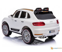 Porsche Cayenne Sport na akumulator za decu Beli - Slika 3/3