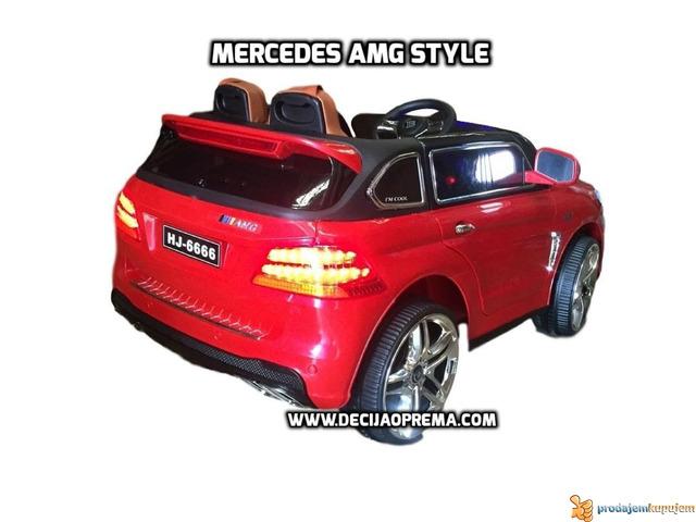 Mercedes AMG Style na akumulator 12V za decu Crveni - 3/3