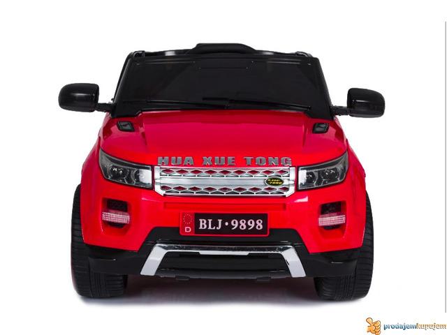 Range Rover Mini auto na akumulator 12v za decu Crveni - 1/3