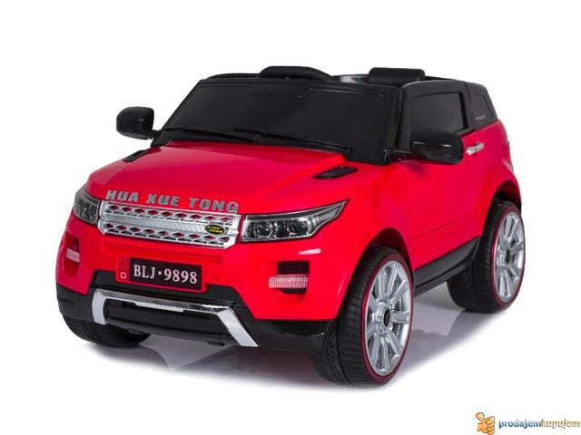 Range Rover Mini auto na akumulator 12v za decu Crveni - 3/3