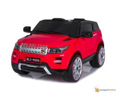 Range Rover Mini auto na akumulator 12v za decu Crveni - Slika 3/3