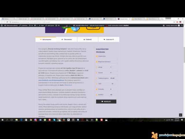 Povoljna izrada i održavanje Web sajtova - 5/6