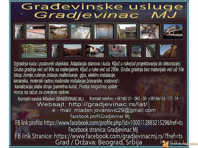 Građevinske usluge Gradjevinac MJ - 1/7