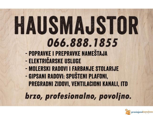 HAUSMAJSTOR - 1/1