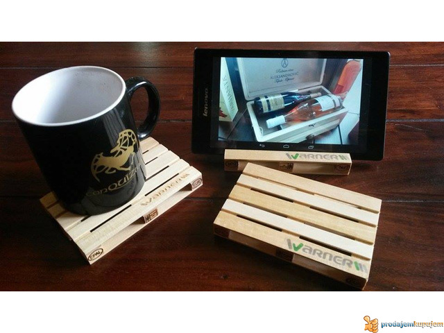 Mini palete - RaminerA - pallet coasters - 1/5