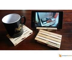 Mini palete - RaminerA - pallet coasters - Slika 1/5