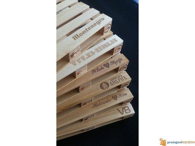 Mini palete - RaminerA - pallet coasters - 4/5