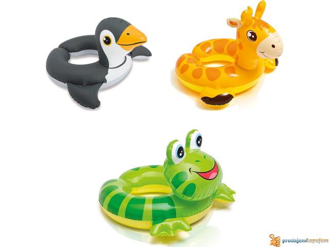 Slauf Pingvin,Zirafa,Zaba INTEX 59220 - 1/1