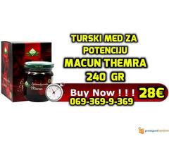 MACUN med turski med za potenciju