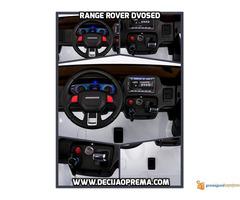 Range Rover Style dvosed na akumulator za decu 12v Beli - Slika 2/3