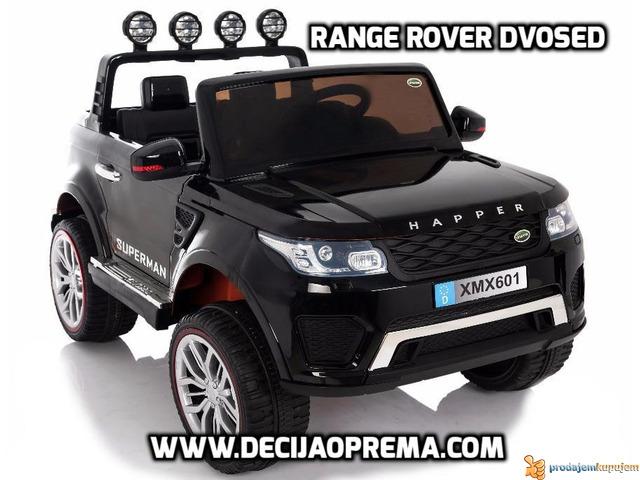 Range Rover Style dvosed na akumulator za decu 12v Crni - 1/3