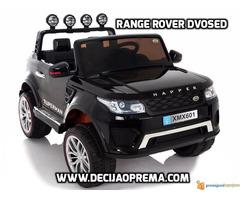 Range Rover Style dvosed na akumulator za decu 12v Crni - Slika 1/3