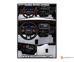 Range Rover Style dvosed na akumulator za decu 12v Crni - Slika 2/3