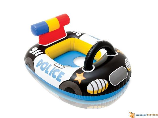 Slauf Dubak Policiski auto INTEX 59586 - 1/1