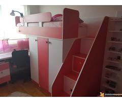 Komplet set sobe za decaka i devojcicu