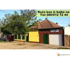 Kuća u Čurugu i za biznis i za život