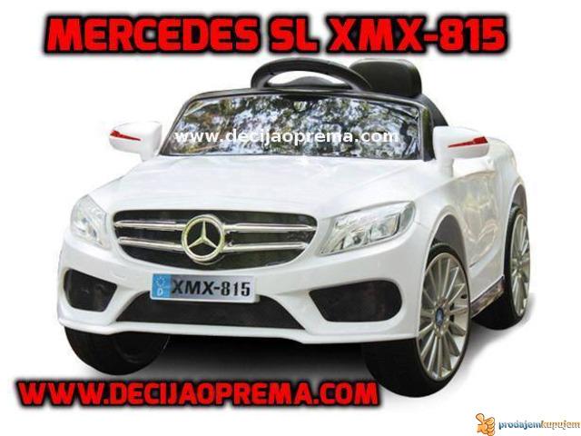 Mercedes SL Style xmx 815 Auto na akumulator sa daljinskim - 1/2