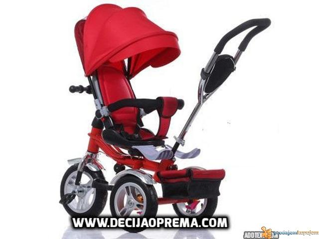 Tricikl za decu Playtime Roto Crveni - 1/1