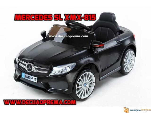 Mercedes SL Style xmx 815 Auto na akumulator sa daljinskim - 1/3