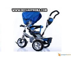 Tricikl za decu Playtime Roto Plavi - Slika 1/2