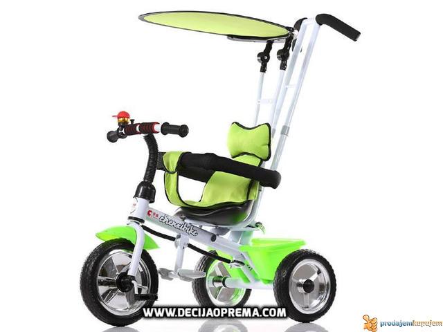 Tricikl za decu sa Tendom Playtime Zeleni - 1/1