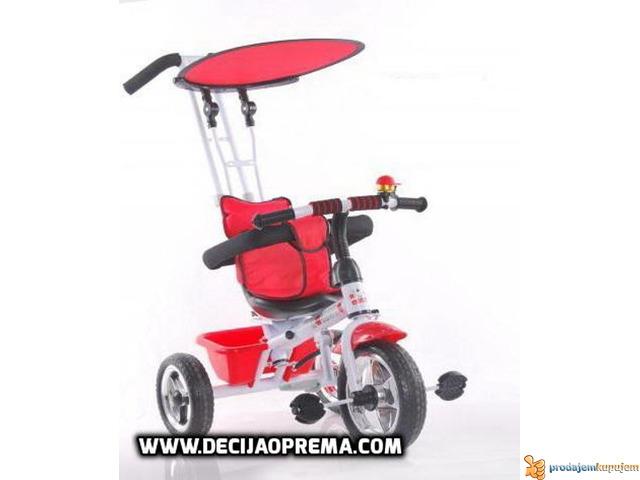 Tricikl za decu sa Tendom Playtime Crveni - 1/1