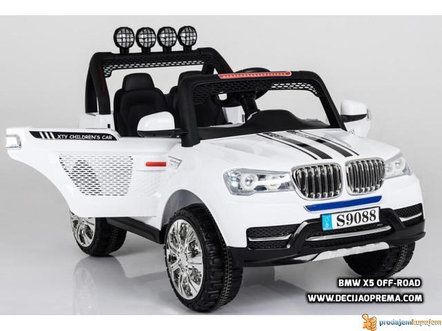 BMW X5 Style Off-Road auto za decu na akumulator 12V dvosed - 2/2