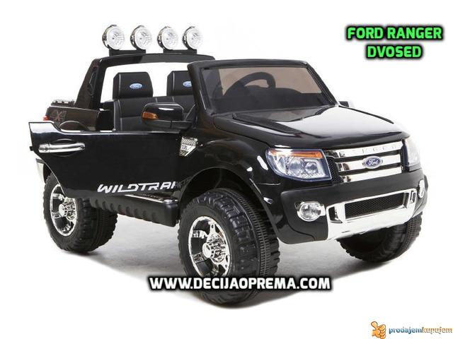 Ford Ranger 4x4 auto za decu na akumulator 12V - 1/2