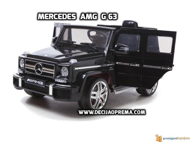 Mercedes AMG G63 Auto na akumulator 12V Crni - 1/4