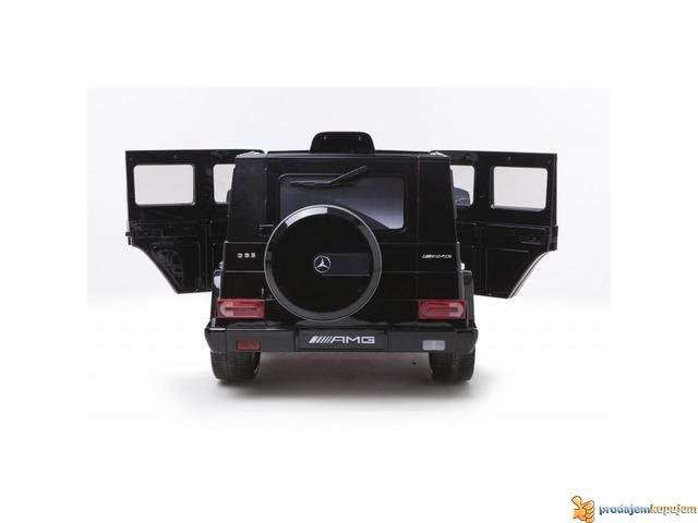 Mercedes AMG G63 Auto na akumulator 12V Crni - 4/4