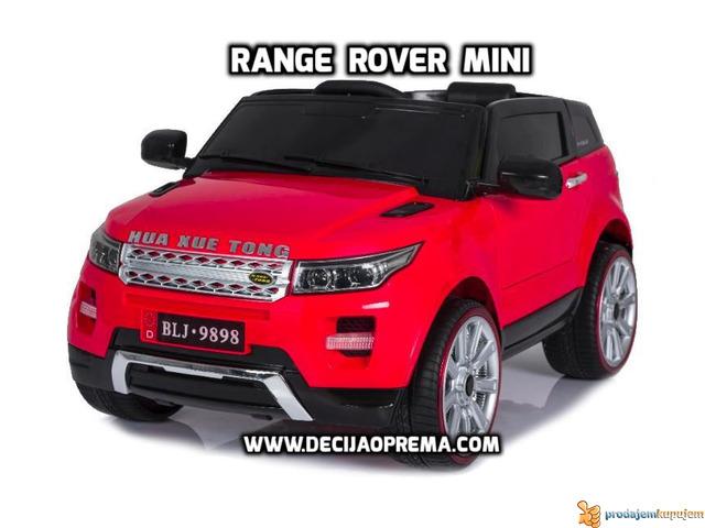Range Rover Style Mini auto na akumulator 12v za decu Crveni - 1/3