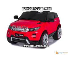Range Rover Style Mini auto na akumulator 12v za decu Crveni - Slika 1/3