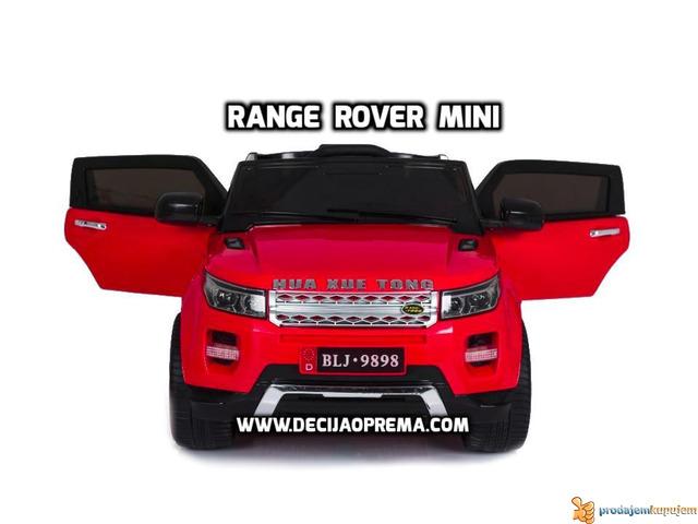 Range Rover Style Mini auto na akumulator 12v za decu Crveni - 2/3