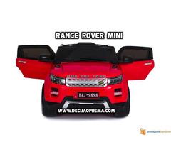Range Rover Style Mini auto na akumulator 12v za decu Crveni - Slika 2/3