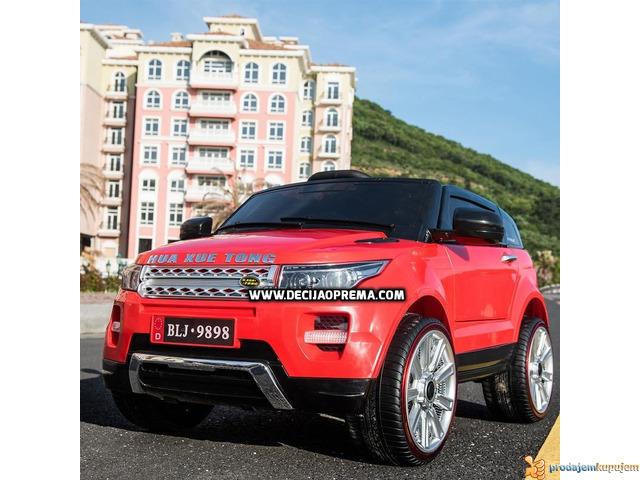 Range Rover Style Mini auto na akumulator 12v za decu Crveni - 3/3
