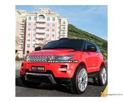 Range Rover Style Mini auto na akumulator 12v za decu Crveni - Slika 3/3