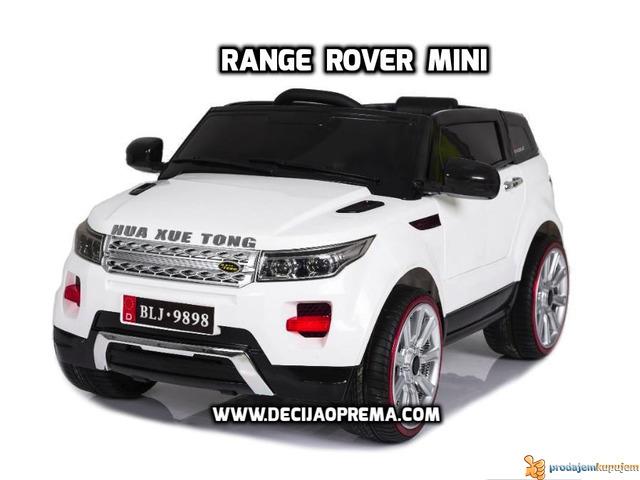 Range Rover Style Mini auto na akumulator 12v za decu Beli - 1/3