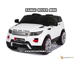 Range Rover Style Mini auto na akumulator 12v za decu Beli