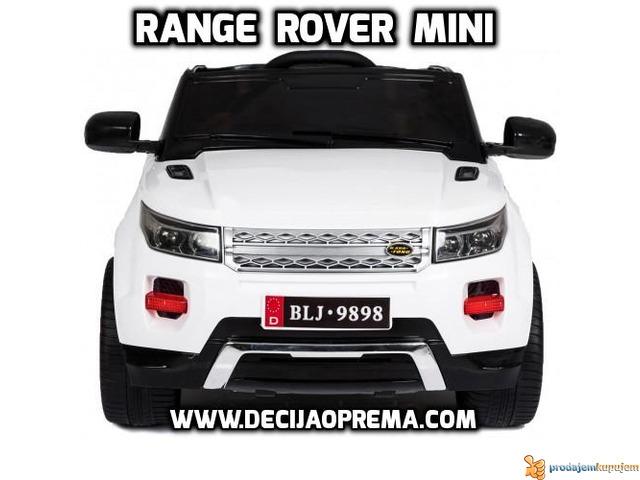 Range Rover Style Mini auto na akumulator 12v za decu Beli - 2/3
