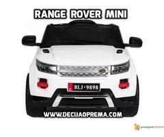 Range Rover Style Mini auto na akumulator 12v za decu Beli - Slika 2/3