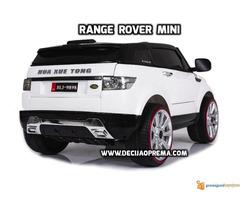 Range Rover Style Mini auto na akumulator 12v za decu Beli - Slika 3/3
