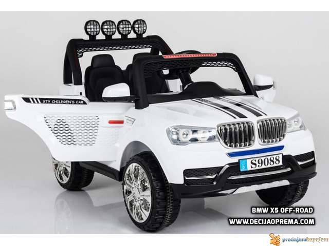 BMW X5 Style Off-Road auto za decu na akumulator 12V dvosed - 1/3
