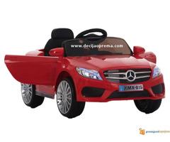Mercedes SL Style xmx 815 Auto na akumulator sa daljinskim Crveni