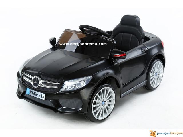 Mercedes SL Style xmx 815 Auto na akumulator sa daljinskim Crni - 1/3