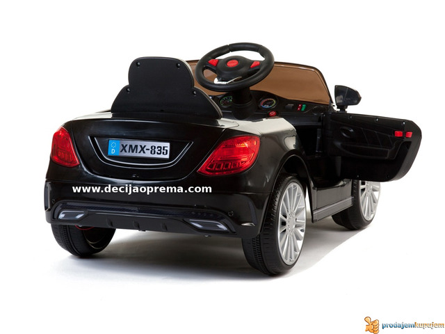 Mercedes SL Style xmx 815 Auto na akumulator sa daljinskim Crni - 2/3