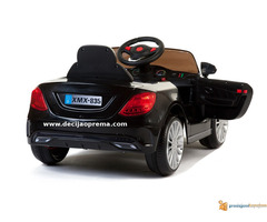 Mercedes SL Style xmx 815 Auto na akumulator sa daljinskim Crni