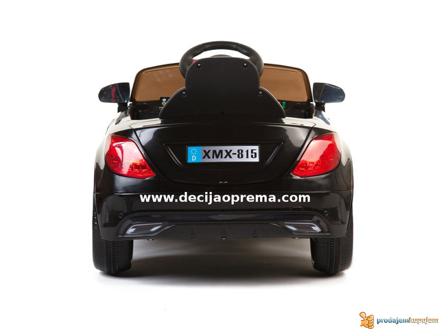 Mercedes SL Style xmx 815 Auto na akumulator sa daljinskim Crni - 3/3