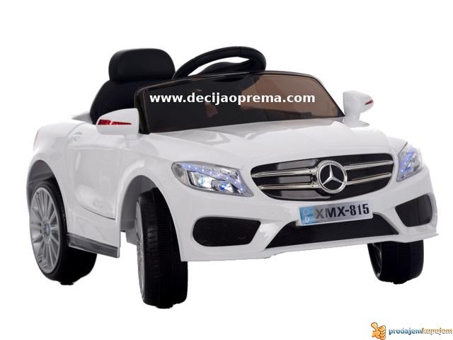 Mercedes SL Style xmx 815 Auto na akumulator sa daljinskim Beli - 1/3