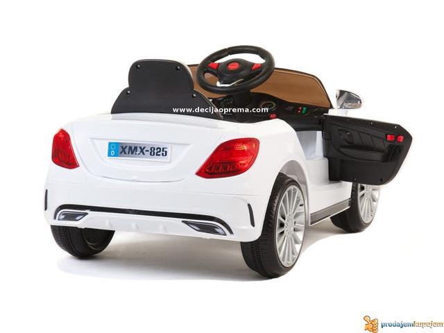 Mercedes SL Style xmx 815 Auto na akumulator sa daljinskim Beli - 3/3