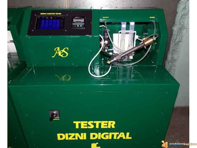 Digitalna masina za test svih vrsta Common Rail dizni - 1/2